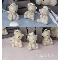 Orso porcellana baby da appendere. Ass 3. CM 4