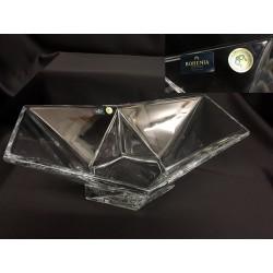 Ciotola in cristallo. CM 33x25 H 15