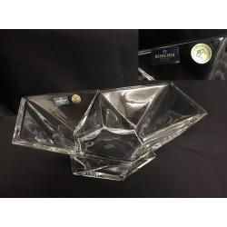 Ciotola in cristallo. CM 22.5x16.5 H 8