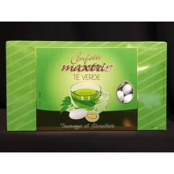 Confetti cioccomandorla, gusto tè verde. KG 1