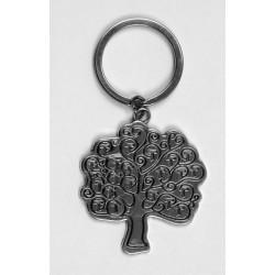 Portachiavi metallo albero della vita