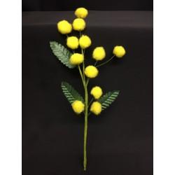 Tralcio mimosa con foglie. CM 20