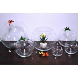 Sfera vetro trasparente diam.8 (1)