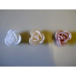 Rosellina cera 6 petali diam. 4,5 H 3