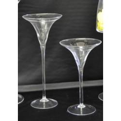 Coppa martini in vetro h.40 d.16