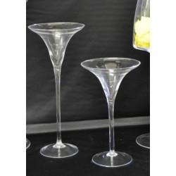 Coppa martini in vetro h.30 d.16