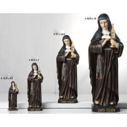 Statua resina Santa Chiara H. 43