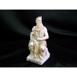 Statua Mosè in resina CM 10