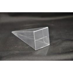 Scatola pvc trasparente forma cono CM 10