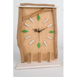 Orologio legno cm.24 con scatola