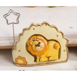 Memo clip resina con leone incastonato CM7