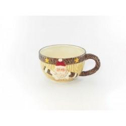 Tazza ceramica con Babbo Natale 17x13