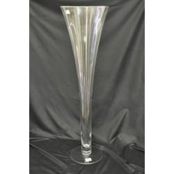 Vaso vetro H 80 diam. 23