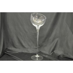Calice vetro H 48 diam. 16