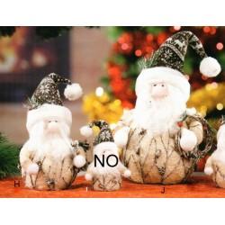 Babbo Natale cotone intrecciato 13x10 H 17 (H)