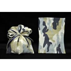 Sacchetto camuflage blu/azzurro 10x14