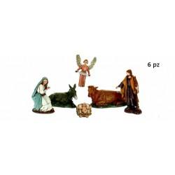 PRESEPE 6 PZ. 10 CM