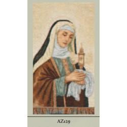 ARAZZINO 30X23 CM S.CHIARA