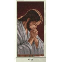 ARAZZINO 30X23 CM GESU' ORANTE