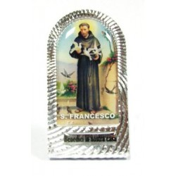 LAMIERINO H 5,5 CM S.FRANCESCO/S.CHIARA