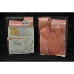 Kit fai da te per fiocchi da allestimento rosa