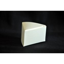 Scatolina cartoncino triangolare avorio (BASE 6.5x6.5x6.5 H4)