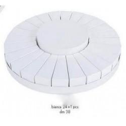 Torta da 24 fette + centrale bianco