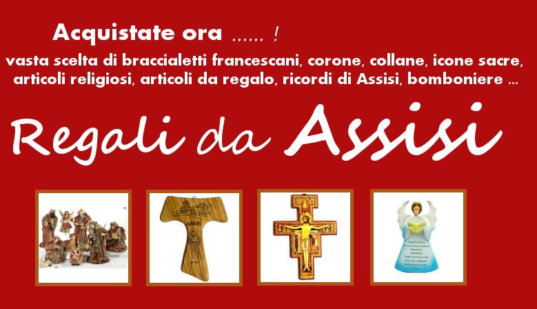 Regali e Souvenir da Assisi