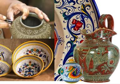 Ceramica Umbra e non solo